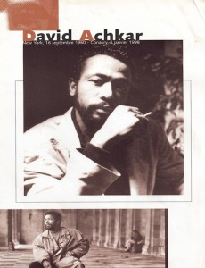 Photo: David Achkar Film Programme