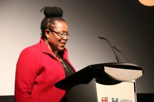 June Givanni - Courtesy of the Regional Council of Martinique, Quand Art se Fait Femmes, Guest of Honour, 2014