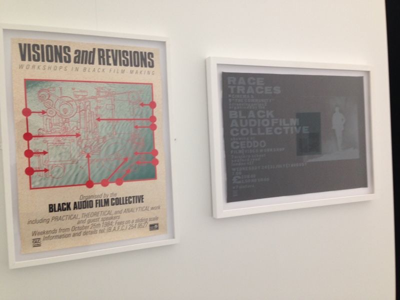 Two Black Film Collective events posters from JGPACA