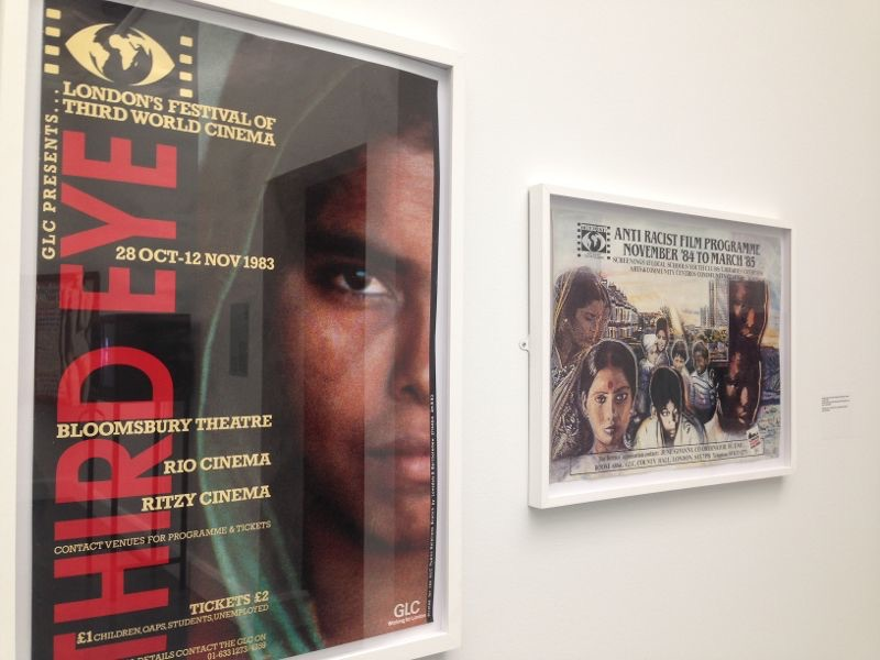 Third Eye Film Festival and Anti-Racist Film Programme Posters from JGPAFA